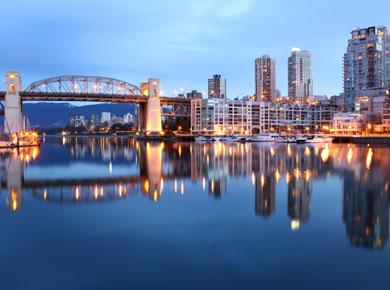 False Creek Bridge in Vancouver