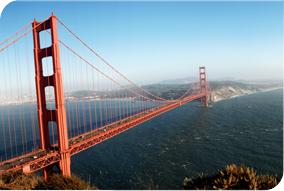 gate bridge with San Fransisco