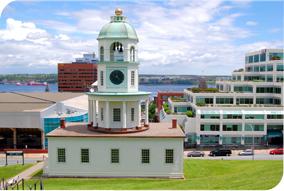 Historical Clock in Halifax