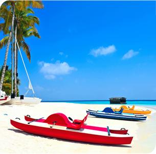 Maldives white beach