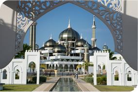 Masjid Kristal in Kuala Terengganu