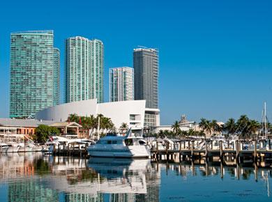 Miami modern buildings