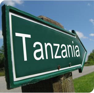 Tanzania signpost