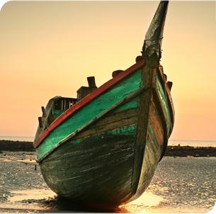 The Boat resting of Bangladesh