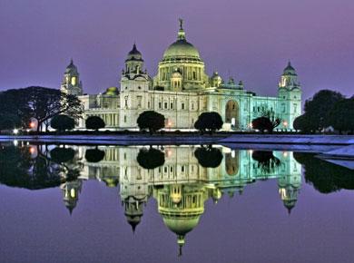 Victoria Memorial in the Kolkata