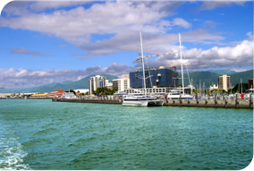 waterfront of Cairns