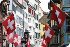 Zurich decorated
