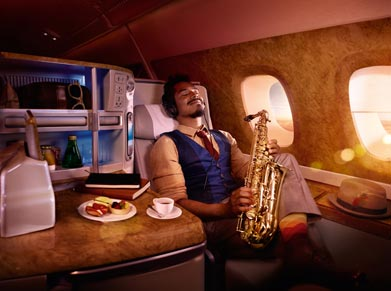 Emirates Airways Business Class