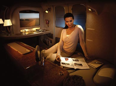 Emirates Airways First Class