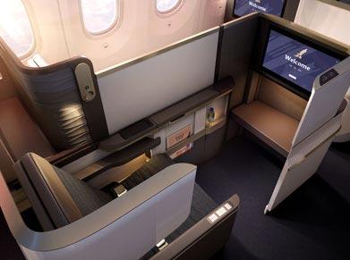 Gulf Airways Business Class