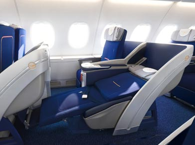 Lufthansa Airlines Business Class
