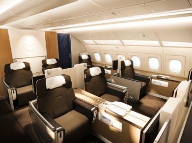 Lufthansa Airlines First Class
